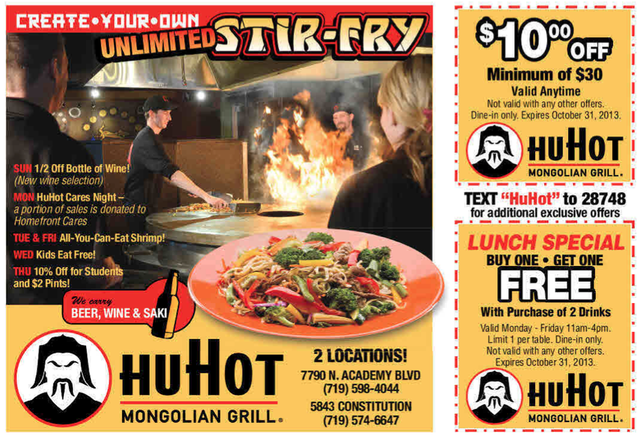 Fast Food Coupons  Printable